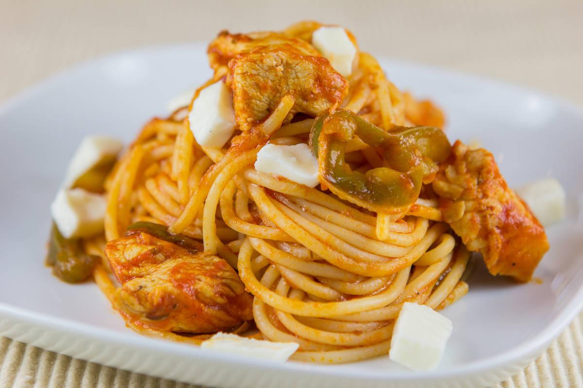 spageti recept